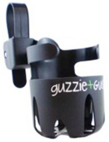 guzzie & guss universal black cup holder