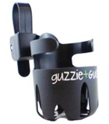 guzzie & guss universal black cup holder thumbnail