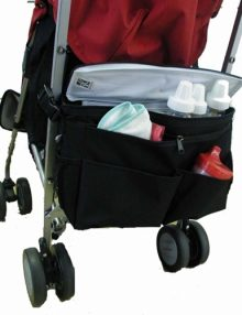 jl childress stroller accessories cool n cargo stroller cooler black 2