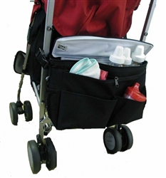 jl childress stroller accessories cool n cargo stroller cooler black image