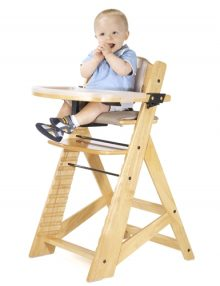 keekaroo all in one right height high chair birch