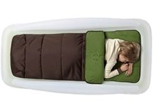 shrunks outdoor bed & sleeping bag & pump