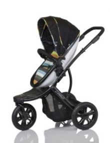 Guzzie & Guss Connect 3 Stripe Stroller