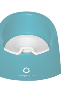 intelligent potty pastel aqua