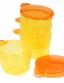 Vital Baby Food Pots Orange