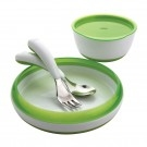 oxo 4 piece feeding set green