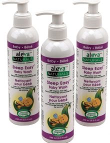 aleva naturals sleep easy hair & body wash
