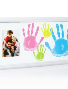 Family handprint frame 2