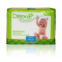 Delora eco-friendly diapers