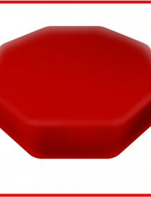 senseez_sensory_cushion_red_octagon