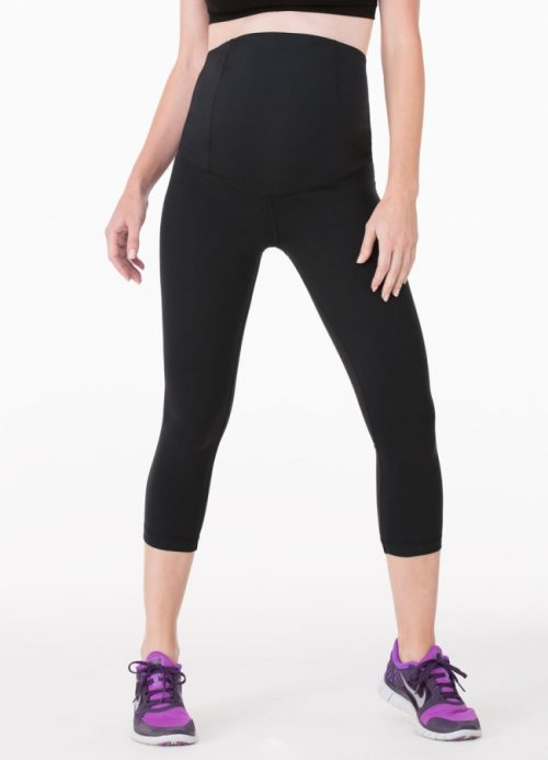 active capri pant with crossover