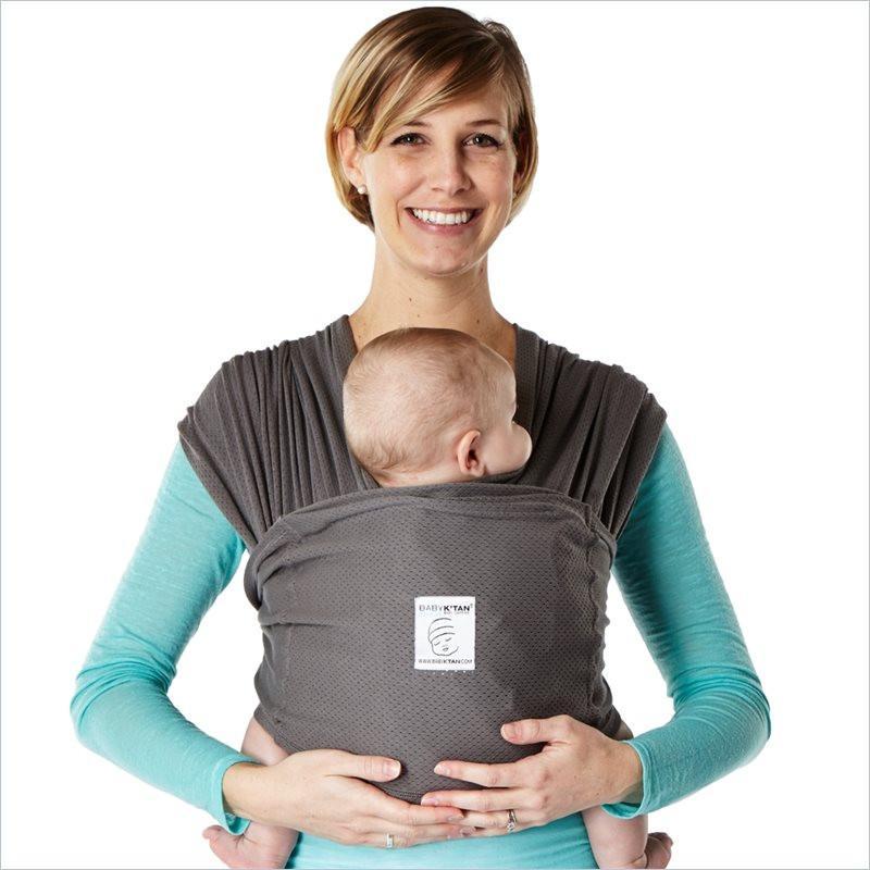 Baby K Tan Breeze Baby Carrier Easy To Wear Wrap